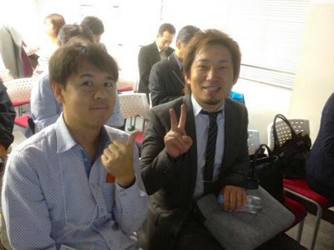 四国ソーシャルシフトの会の松本さん(左)と川崎さん(右)
