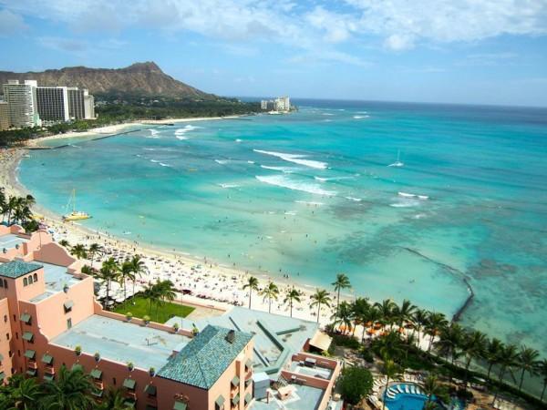 ハワイといえばワイキキビーチ