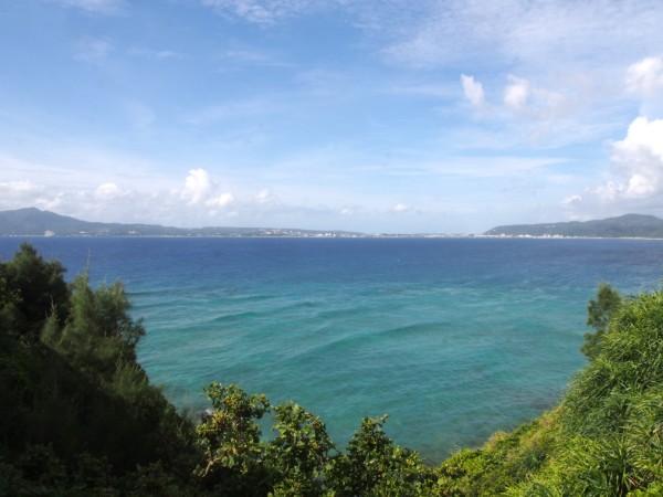 本当にキレイな海でした