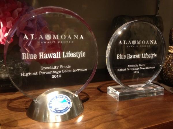 Blue Hawaii Life Style(ブルー・ハワイ・ライフスタイル)はこんな表彰もされているようです