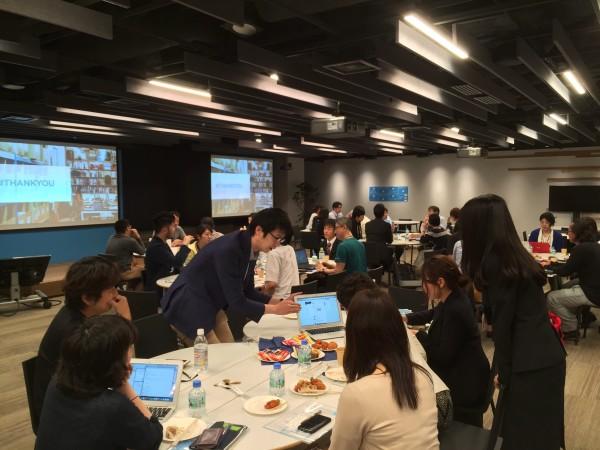 約40のNPOでソーシャルメディア運用や広報などを担当されている方々が日本中から集まりました