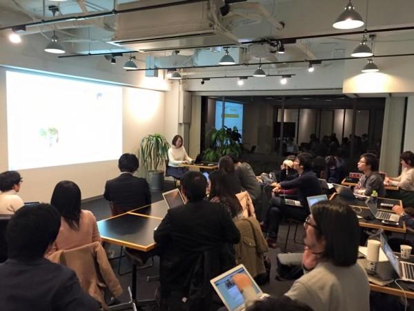 「SmartNews Nonprofit Program」のテスト運用成果を共有する認定NPO法人フローレンスの藤田さん
