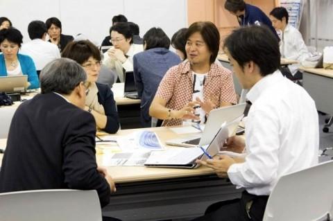 東京ソーシャルシフトの会 ワークショップの様子