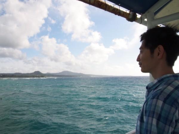 今回は残念ながら入らなかった沖縄の海、また来ます。