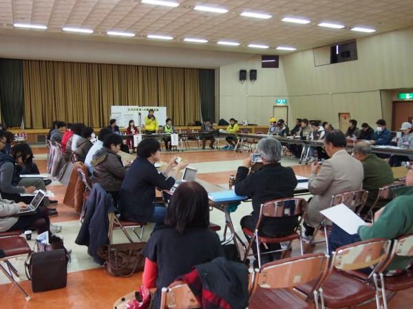 「山元の未来への種まき会議」は東北各地や東京からの参加者も多く、年齢層も本当に幅広かったです