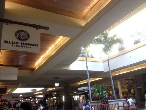 Blue Hawaii Life Style(ブルー・ハワイ・ライフスタイル)はアラモアナセンター2Fにあります