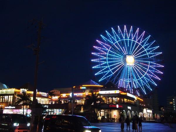 沖縄の美浜タウンリゾート「アメリカンビレッジ」で外国気分