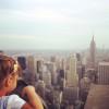 ロックフェラーセンターからの眺め