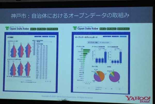神戸におけるオープンデータの取り組み