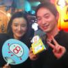 8番らーめんのソーシャルメディア担当者である岡さんと恵比寿横丁でディナー