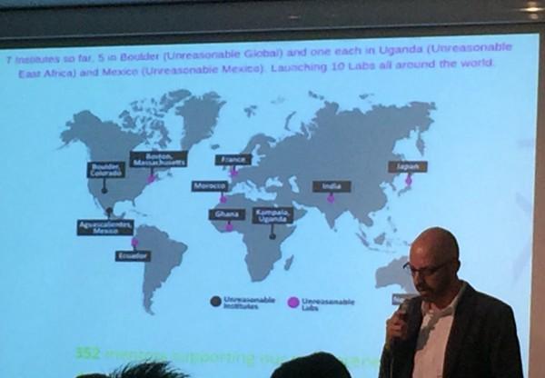 世界中で展開される社会起業家アクセラレータープログラム「Unreasonable Lab」
