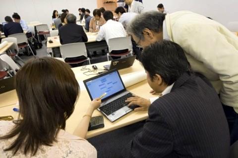 東京ソーシャルシフトの会 ワークショップの様子2